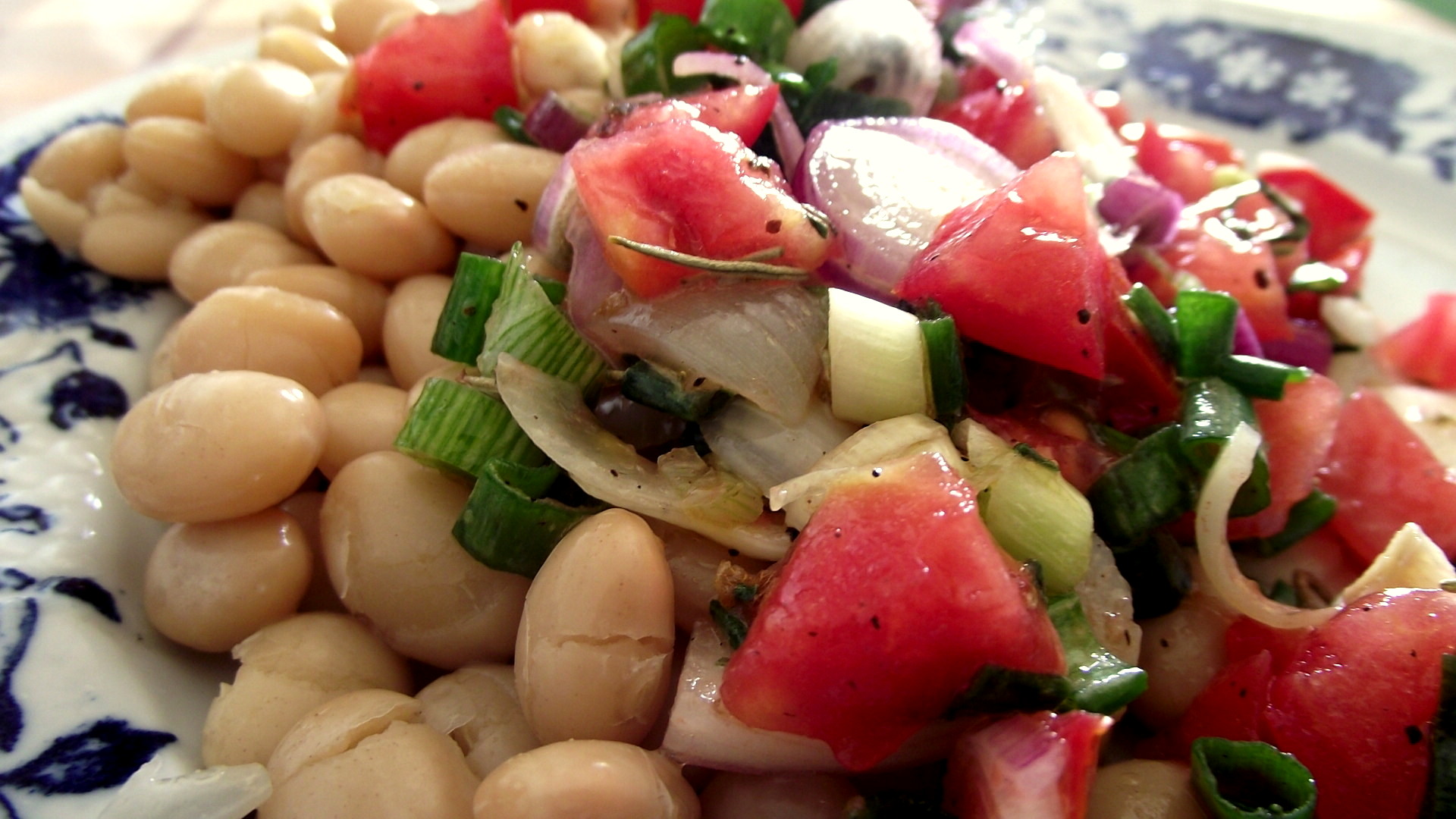 bean salad recipe recipe type no meat dinner tags dried beans healthy ...
