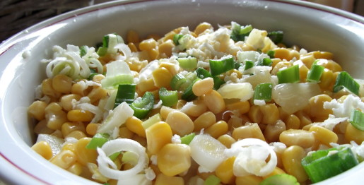 pineapple sweetcorn salad