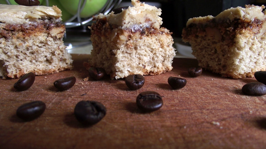 coffee cream sponge cake 2