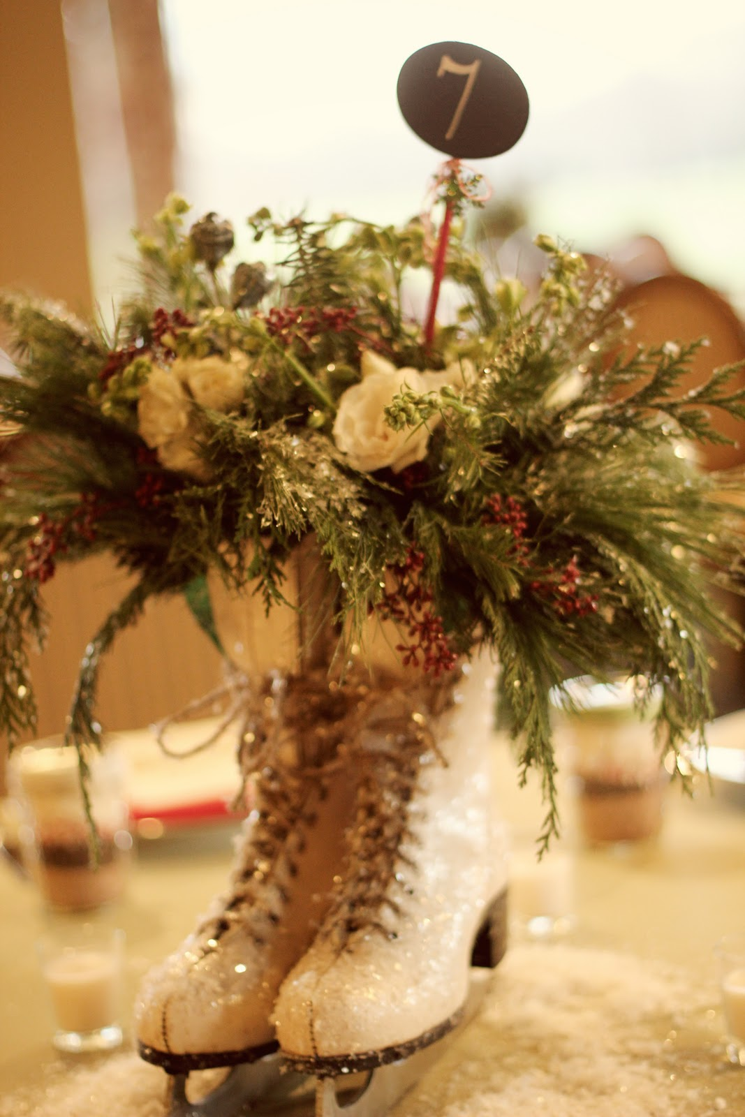 Diy christmas table centerpieces ideas my easy recipesmy for Glace decoration